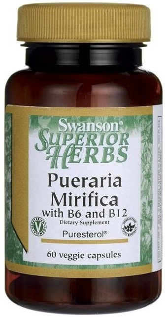 Pueraria Mirifica with B6 & B12 - 60 vcaps