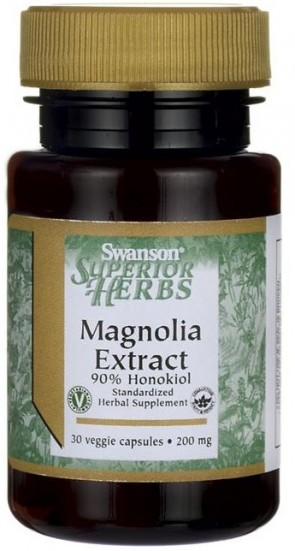 Magnolia Extract, 200mg - 30 vcaps