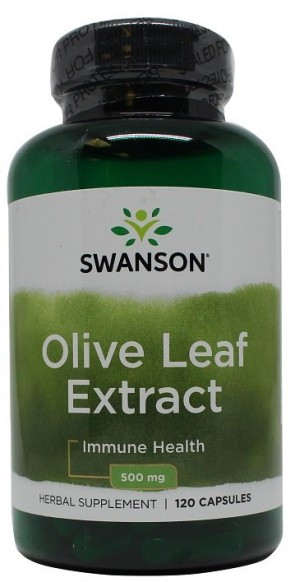 Olive Leaf Extract, 500mg - 120 caps